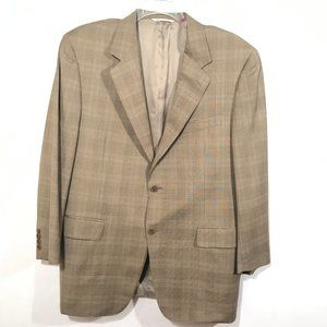 CANALI Tan Sport Coat Jacket Blazer 44S